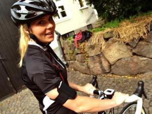 جهاز بلوتوث للتواصل بين راكبي الدراجات الهوائية