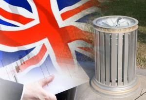 مستشار رئيس الوزراء البريطاني رمى وثائق هامة في سلة المهملات