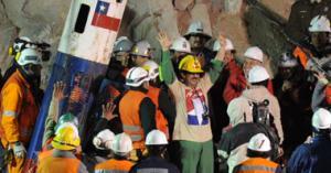أحتفال في تشيلي بمرور عام على إنقاذ عمال المناجم