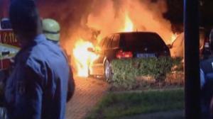 شاب ألماني محبط يحرق أكثر من 100 سيارة فاخرة