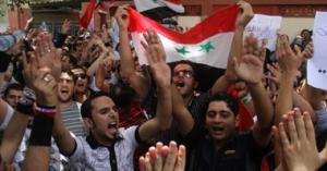 صحفية بريطانية تدخل أخطر مناطق سوريا لتصور فيلم وثائقي الثورة