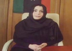 مذيعة القذافي المفضلة تنفي نبأ مقتلها وتؤكد أنها على قيد الحياة