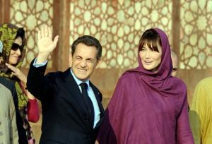 ساركوزي وزوجته في رحلة للمغرب بعد أنتهاء فترة رئاسته