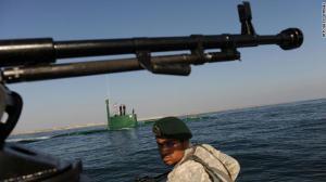 البحرية الإيرانية تنقذ سفينة أمريكية من محاولة قرصنة